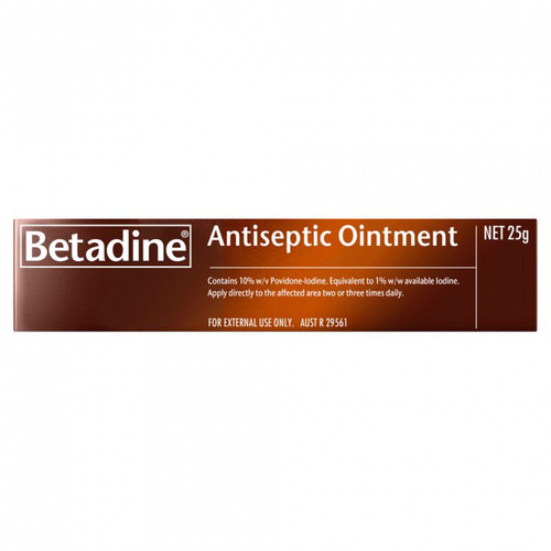 Betadine Antiseptic Ointment in Australia at Blooms The Chemist
