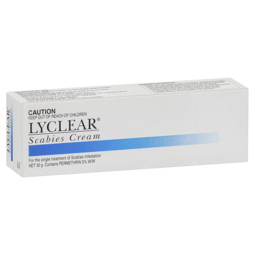 Lyclear Scabies Cream in Australia at Blooms The Chemist