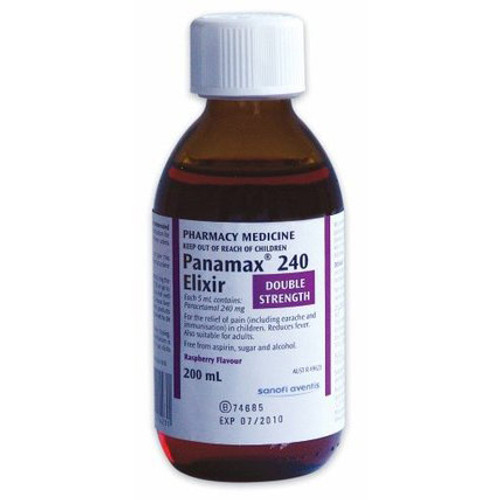 Panamax 240 Elixir online at Blooms The Chemist