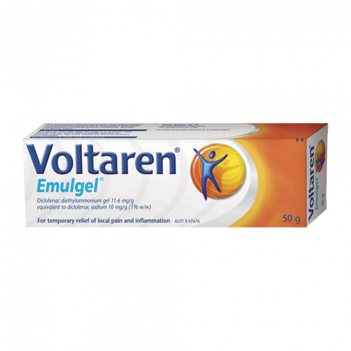 Voltaren 50 Emulgel in Australia at Blooms The Chemist