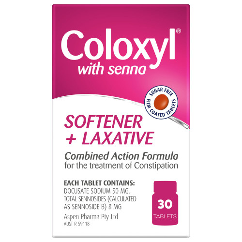 Coloxyl with Senna online at Blooms The Chemist