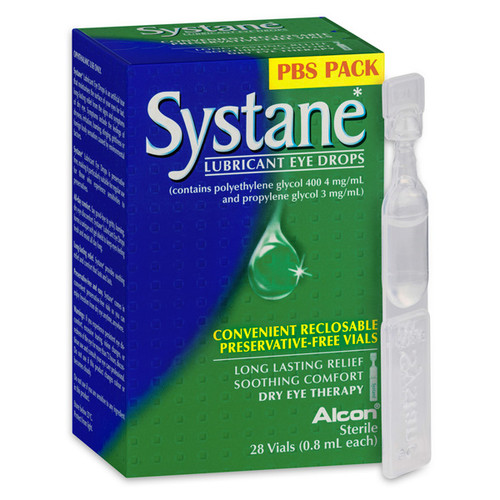 Systane Lubricant Eye Drops 0.8ml Vials Blooms The Chemist