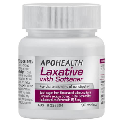 ApoHealth Laxative with Softener online at Blooms The Chemist