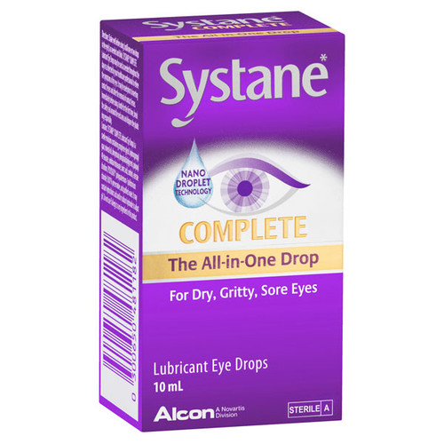 Systane Complete Eye Drops online at Blooms The Chemist