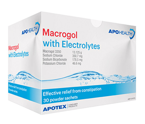 Macrogol with Electrolytes Powder - 30 Sachets at Blooms The Chemist