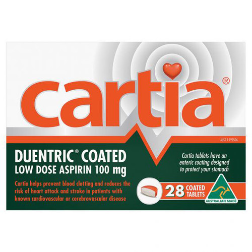 Cartia Tablets Online at Blooms the Chemist