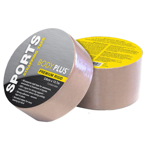 Body Plus Rigid Strapping Tape - 3.8cm x 13.7m