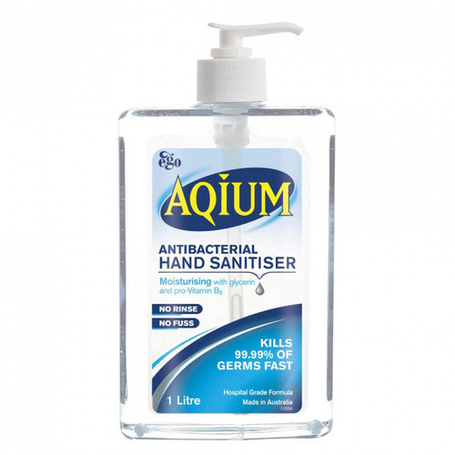 Aqium Hand Sanitiser in Australia at Blooms the Chemist