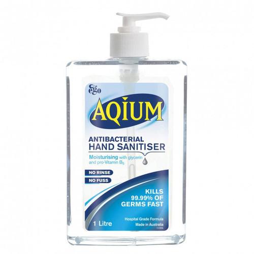 Aqium Hand Sanitiser in Australia at Blooms the Chemist