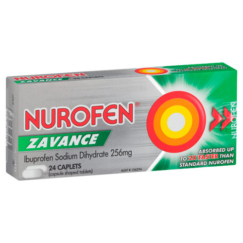 Nurofen Zavance Capsules Online at Blooms the Chemist