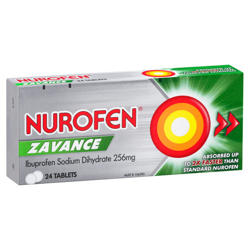 Nurofen Zavance Tablets in Australia at Blooms the Chemist