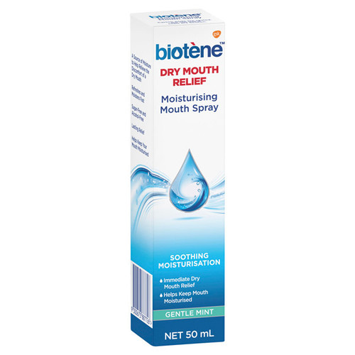 Biotene Mouth Spray in Australia at Blooms the Chemist