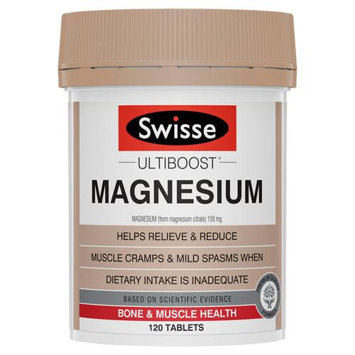 Swisse Ultiboost Magnesium in Australia at Blooms the Chemist