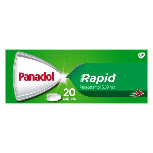 Panadol Rapid Caplets in Australia at Blooms the Chemist