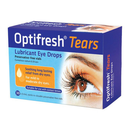 Optifresh Tears Eye Drops online at Blooms the Chemist