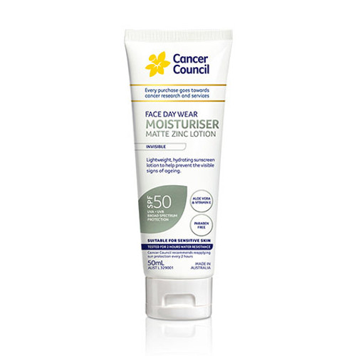 Cancer Council SP50 Face Sunscreen in Australia at Blooms the Chemist