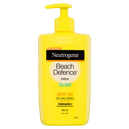 Neutrogena Beach Defence in Australia at Blooms the Chemist