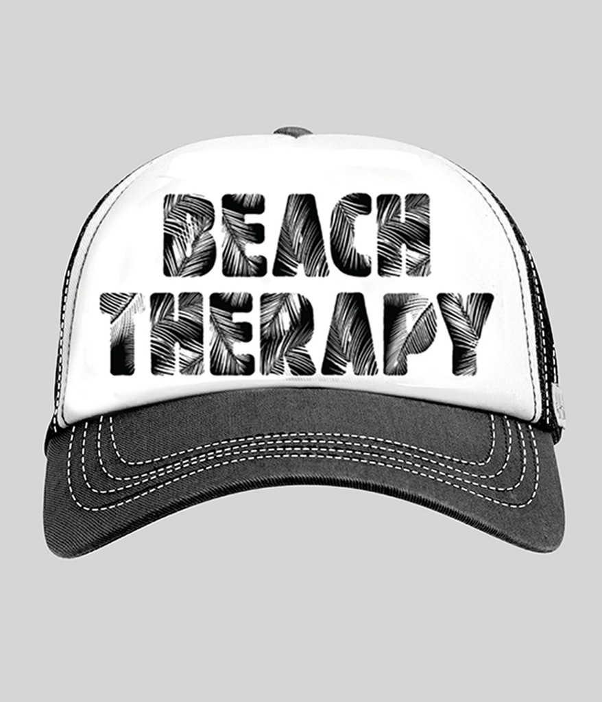 BEACH THERAPY TRUCKER HAT
