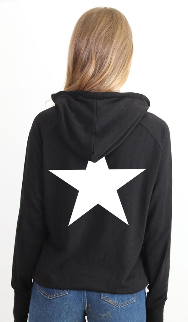 STAR LIGHTWEIGHT FLEECE ZIP HOODIE