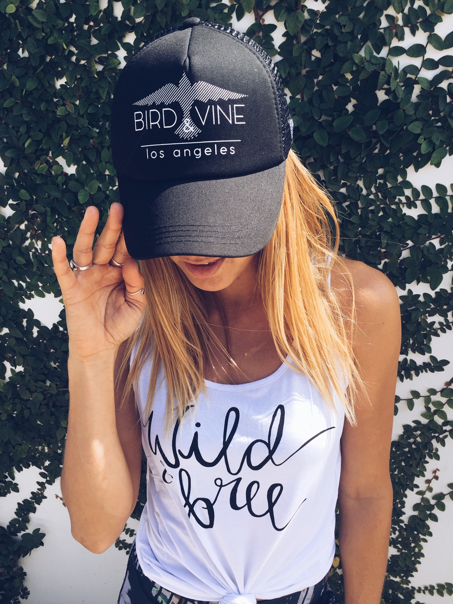BIRD & VINE TRUCKER HAT