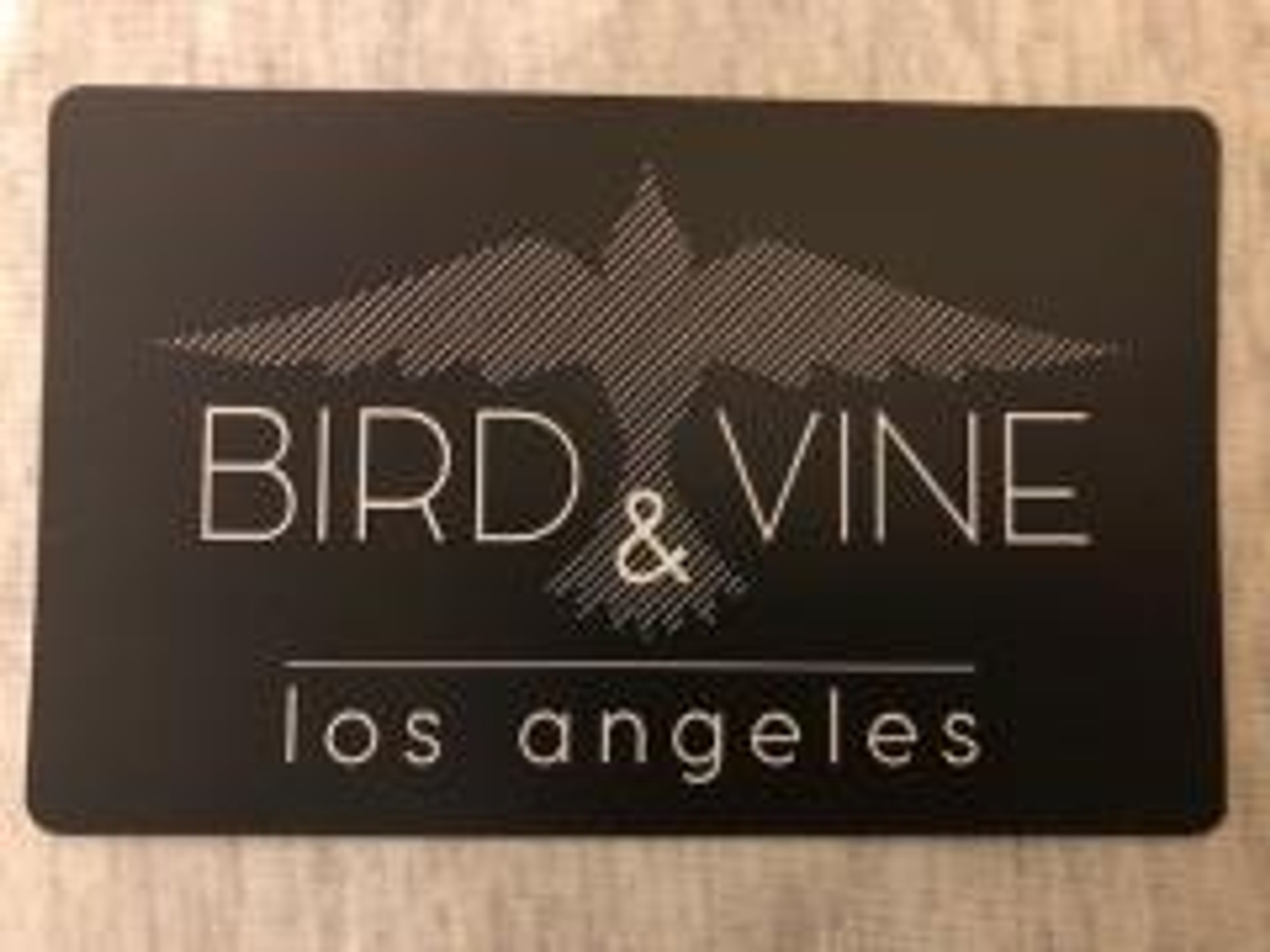 BIRD & VINE LOGO STICKER  (Ships domestically FREE)