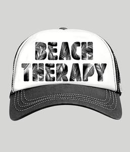 BEACH THERAPY TRUCKER HAT
