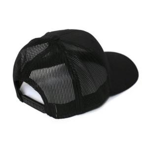 LOVE EMBROIDERED TRUCKER HAT (Black)