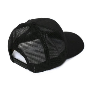 BEE KIND EMBROIDERED TRUCKER HAT (Black)