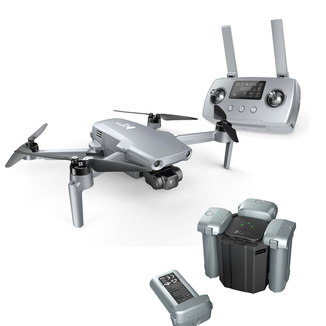 Hubsan ZINO Mini PRO 249g GPS 5G WiFi 10KM FPV with 4K 30fps Camera 3-axis Gimbal 3D Obstacle Sensing 40mins Flight Time RC Drone Quadcopter RTF