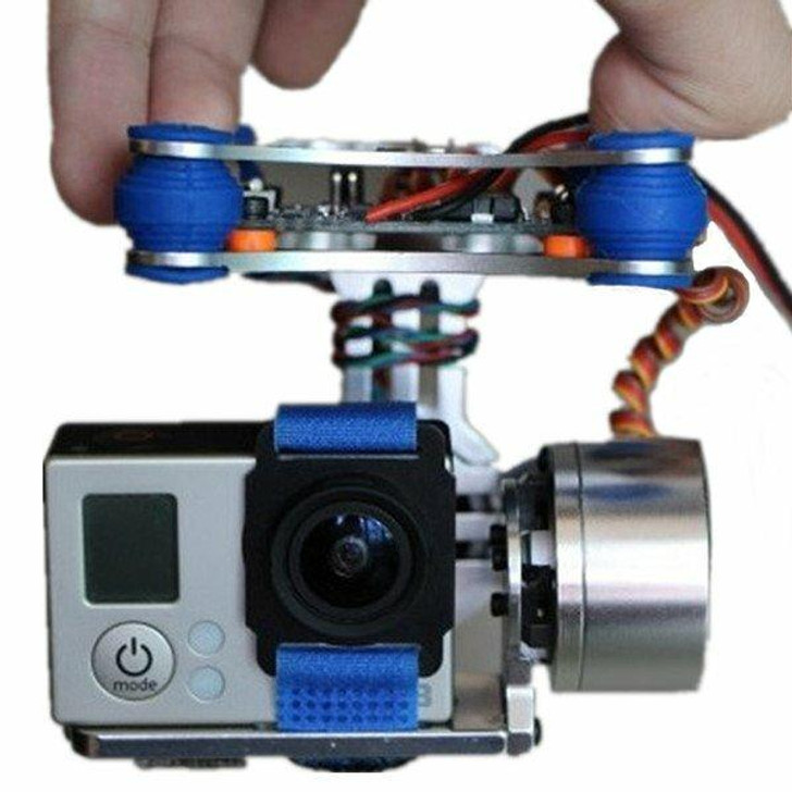 FPV 2 Axis Brushless Gimbal With Controller For DJI Phantom GoPro 3 for RC Drone FPV Racing