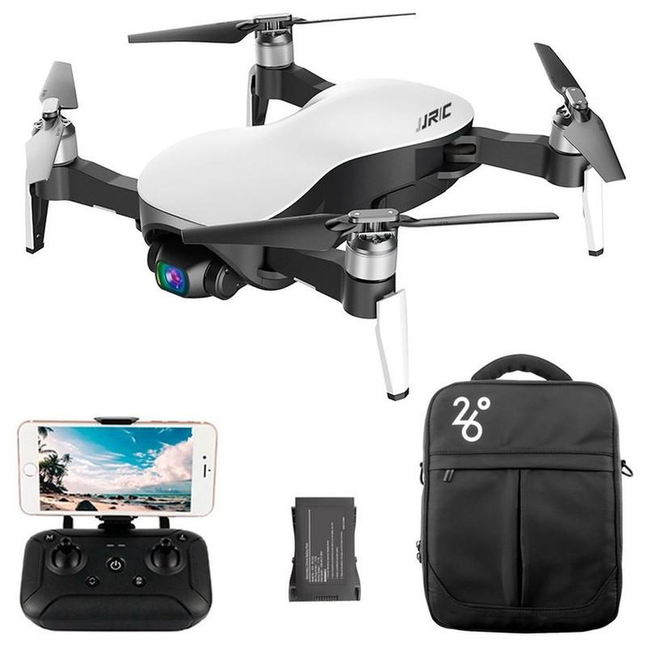 JJRC X12 aurora 3-axis PTZ optical flow positioning ultra-long endurance HD drone-ex4