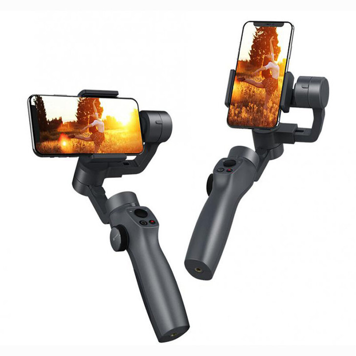 FUNSNAP Capture2s 3-Axis Handheld Anti-shake Gimbal Stabilizer For Samsung and iphone X XR 8 7 for Gopro Camera