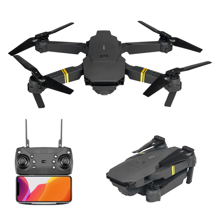 E58 WIFI FPV With 1080P/4K HD Wide Angle Camera High Hold Mode Foldable RC Drone Quadcopter RTF