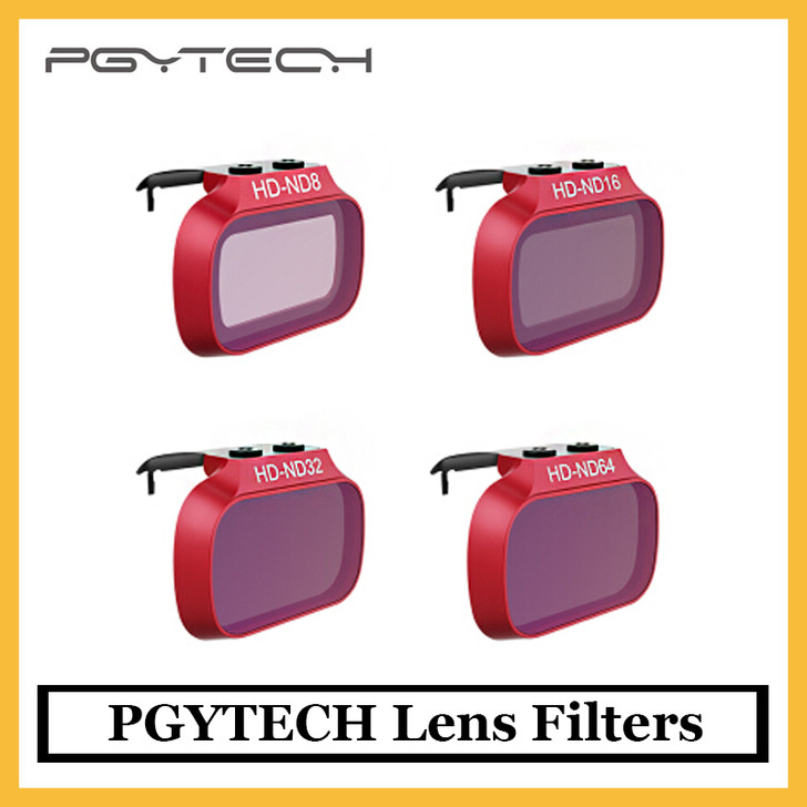 PGYTECH Lens Filters For DJI Mavic Mini ND 8 16 32 64 in stock original for DJI Mavic Mini ND8 ND16 ND32 ND64