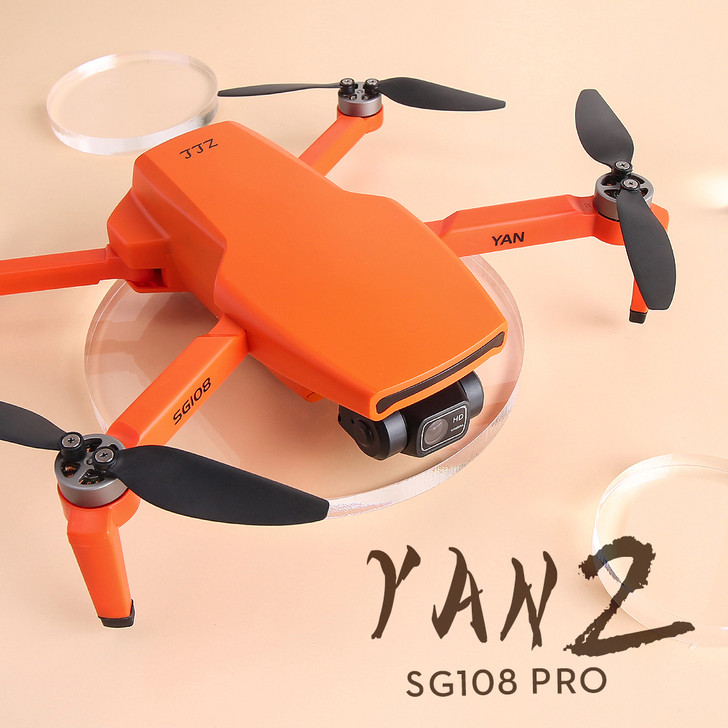 ZLL SG108 PRO 5G WIFI FPV GPS with 4K HD Camera 2-axis Self-stabilizing Gimbal Optical Flow Positioning Brushless RC Drone Quadcopter RTF