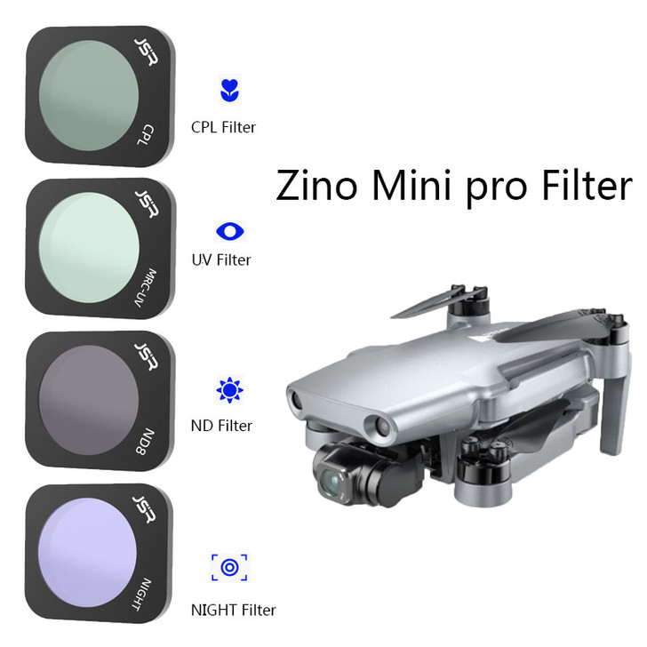 Hubsan Zino Mini Pro Lens Filter Combo UV CPL ND8 ND16 ND32 Night STAR ND64 Scratch-proof Optical Glass Lenses Accessories