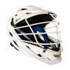Cascade XRS Lacrosse Helmet - White/Black with White Cage