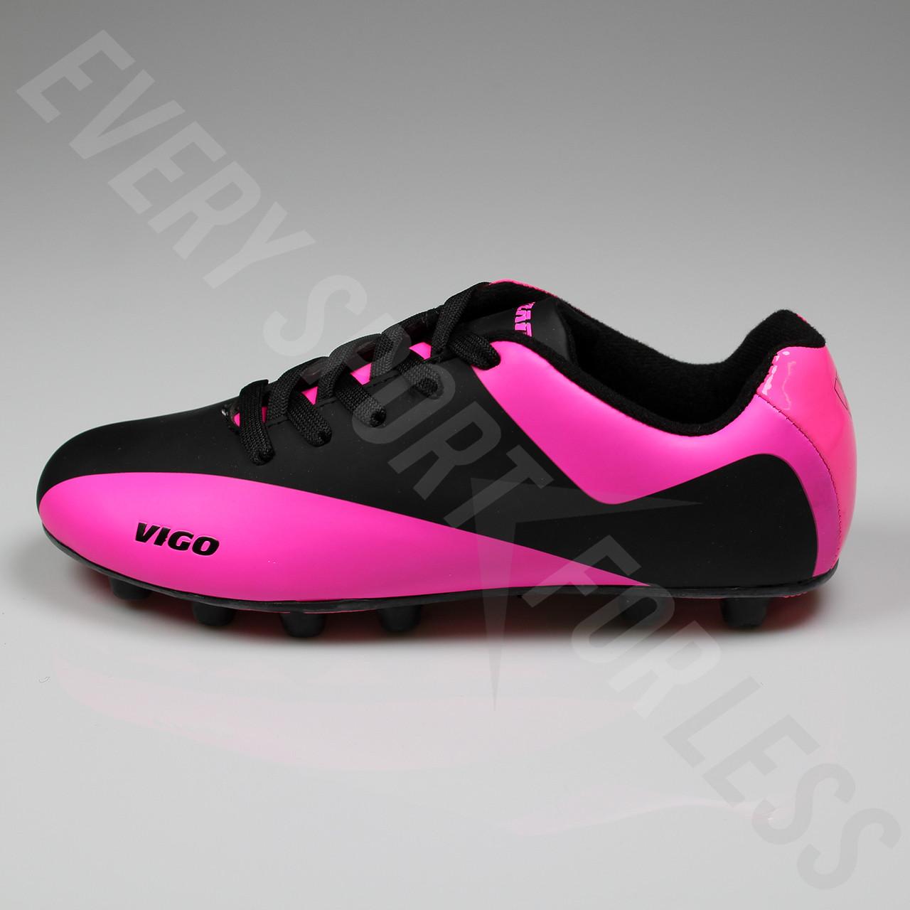 793d3a303c6e ... Vizari Vigo FG Junior Soccer Cleats - Black