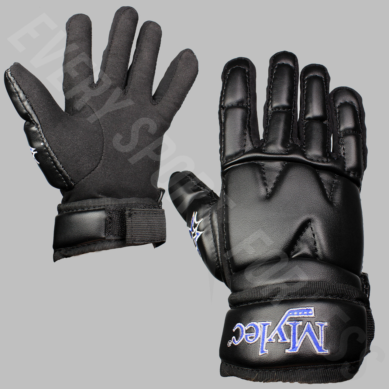 5c8cb63fbde Mylec Street Hockey Gloves - Black