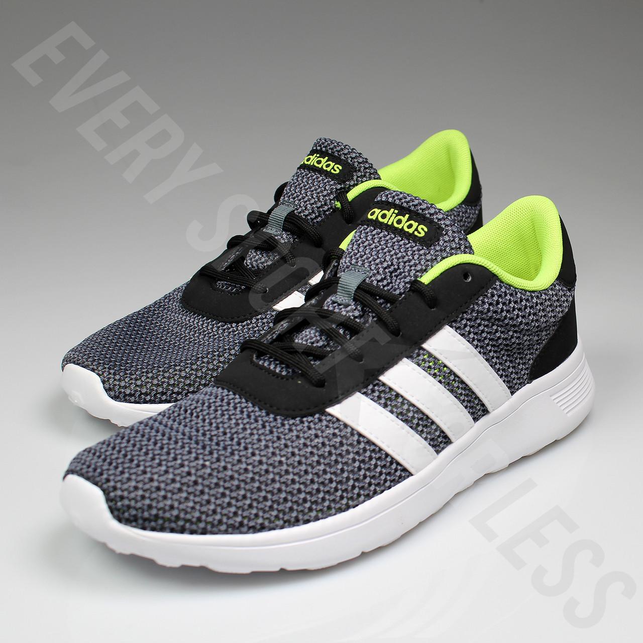 Adidas Neo Lit Racer Mens Running Shoes F99417 - Black, White