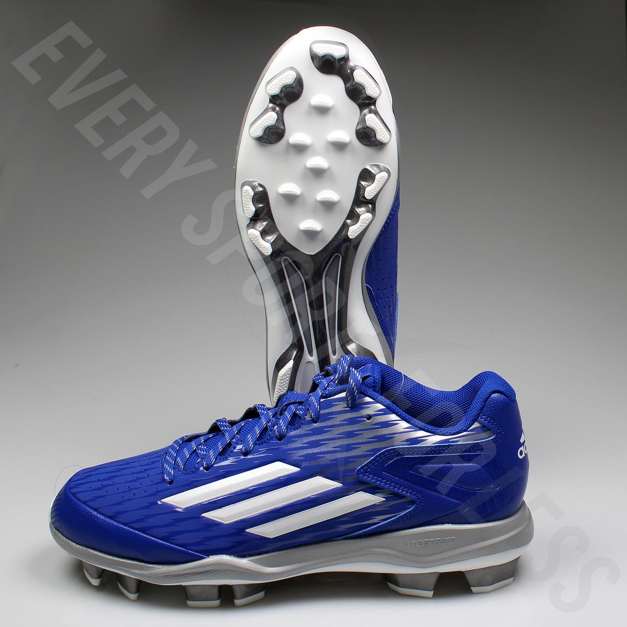 a14a1ef6113 ... Adidas Power Alley 3 TPU Men s Baseball Cleats S84752 - Royal