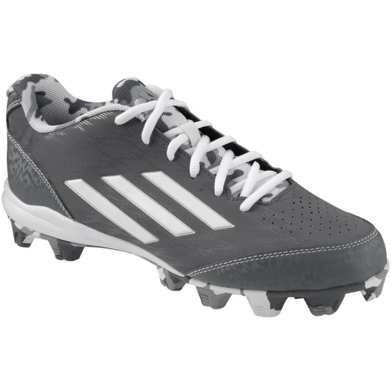 Adidas Wheelhouse 3 S84778 Baseball Cleat - Onix White Grey 2c18b977552