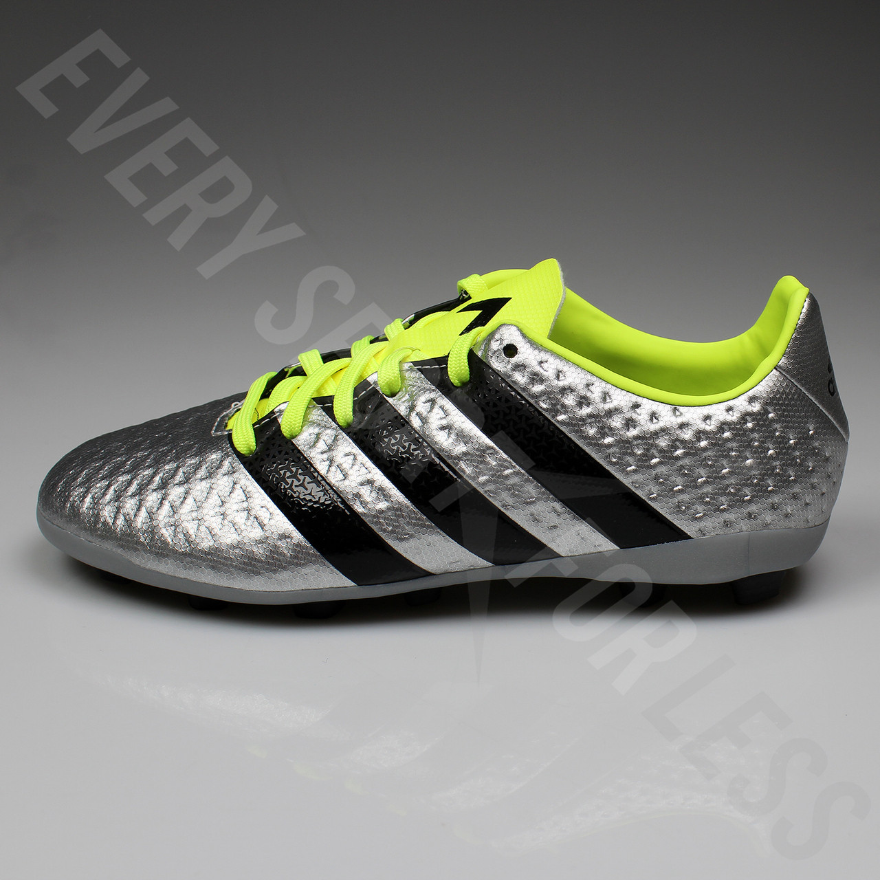 a3ba541bc9c Adidas Ace 16.4 FxG Junior Soccer Cleat S42142 - Silver Black Yellow