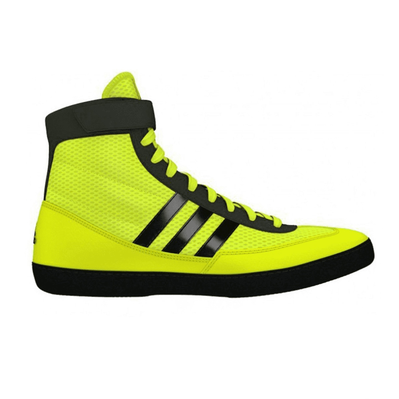 ff2d7aacb12 Adidas Combat Speed 4 Senior Wrestling Shoes S77933 - Yellow