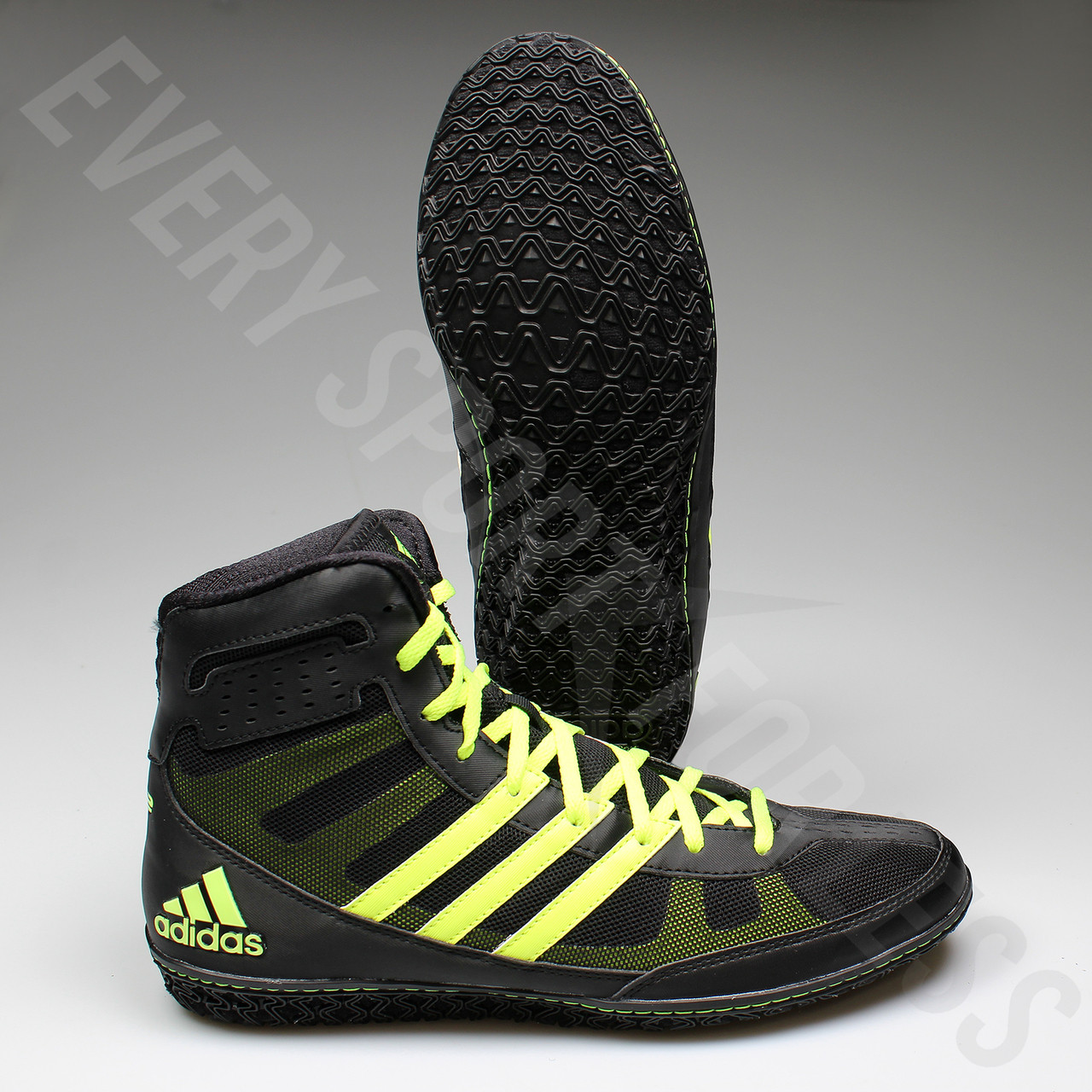 c47dc387b6eac0 ... Adidas Mat Wizard 3 Senior Wrestling Shoes S77969 - Black