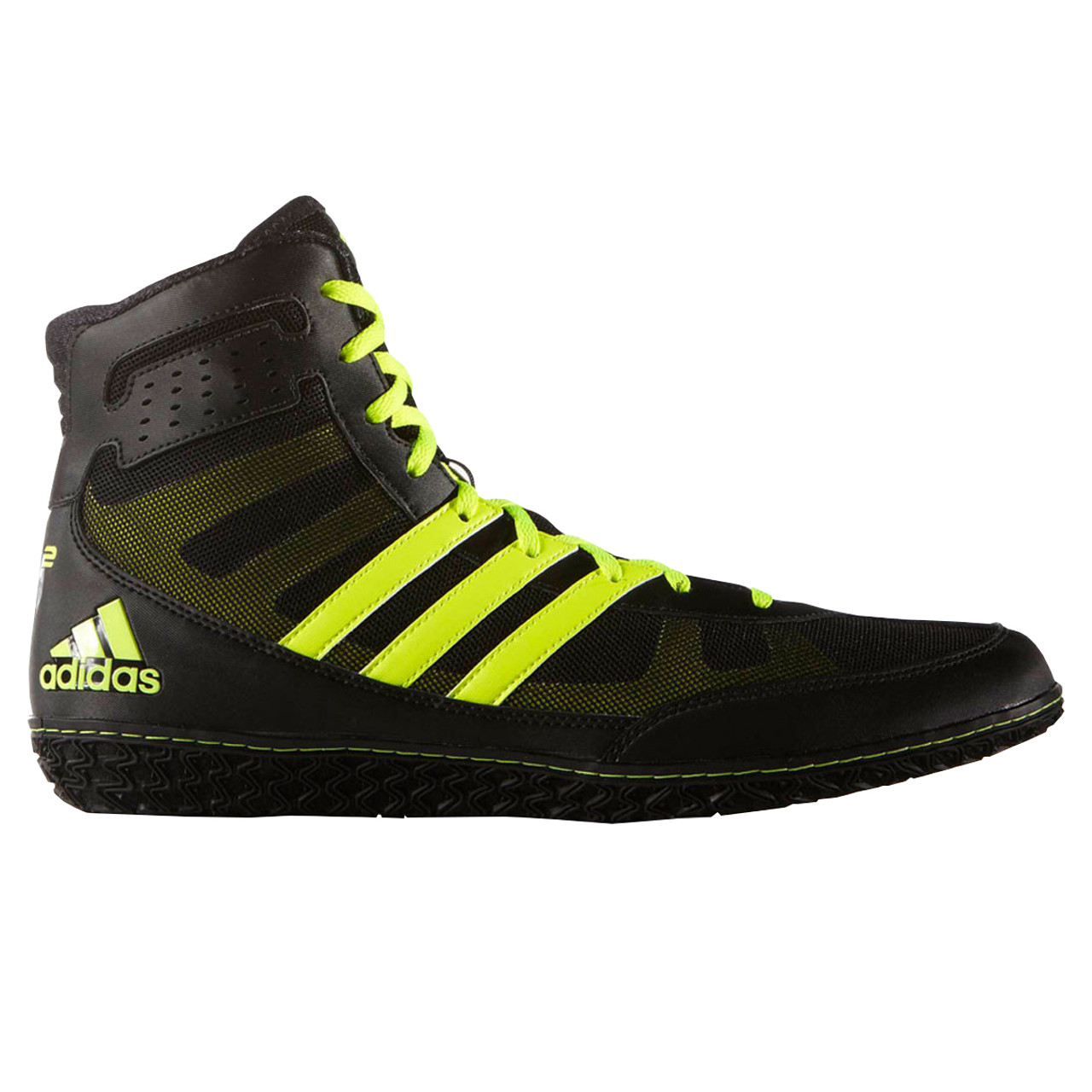 2c9772561bdb Adidas Mat Wizard 3 Senior Wrestling Shoes S77969 - Black