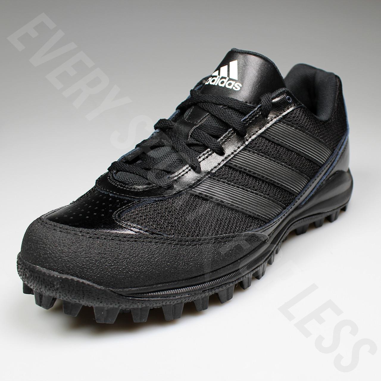 a650e9db05c3 Adidas Turf Hog LX Low Senior Football Cleats G67096 - Black/Titanium