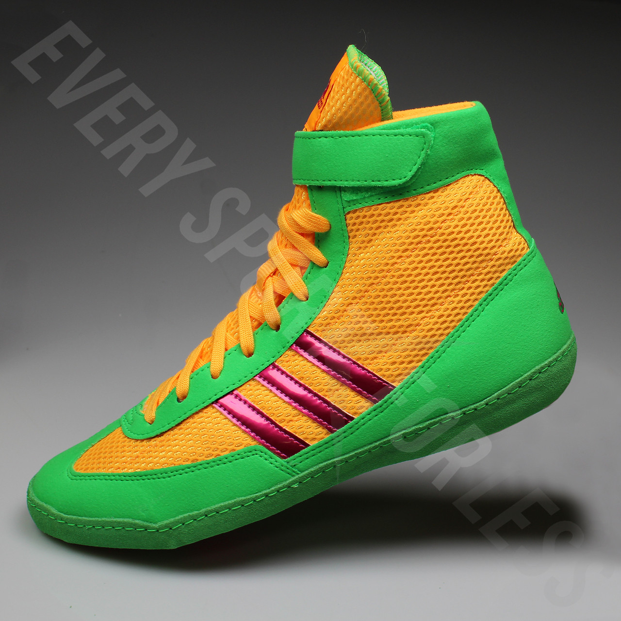 Adidas Combat Speed 4 Wrestling Shoes Solar GoldPink