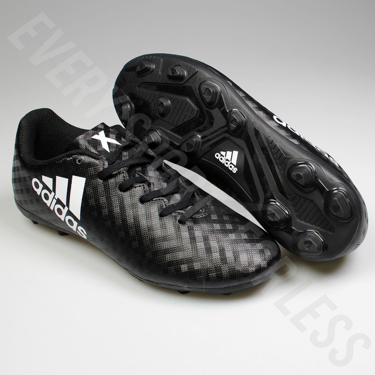 5448c54ace43 ... Adidas X 16.4 FxG Junior Soccer Cleats BB1045 - Black, White ...