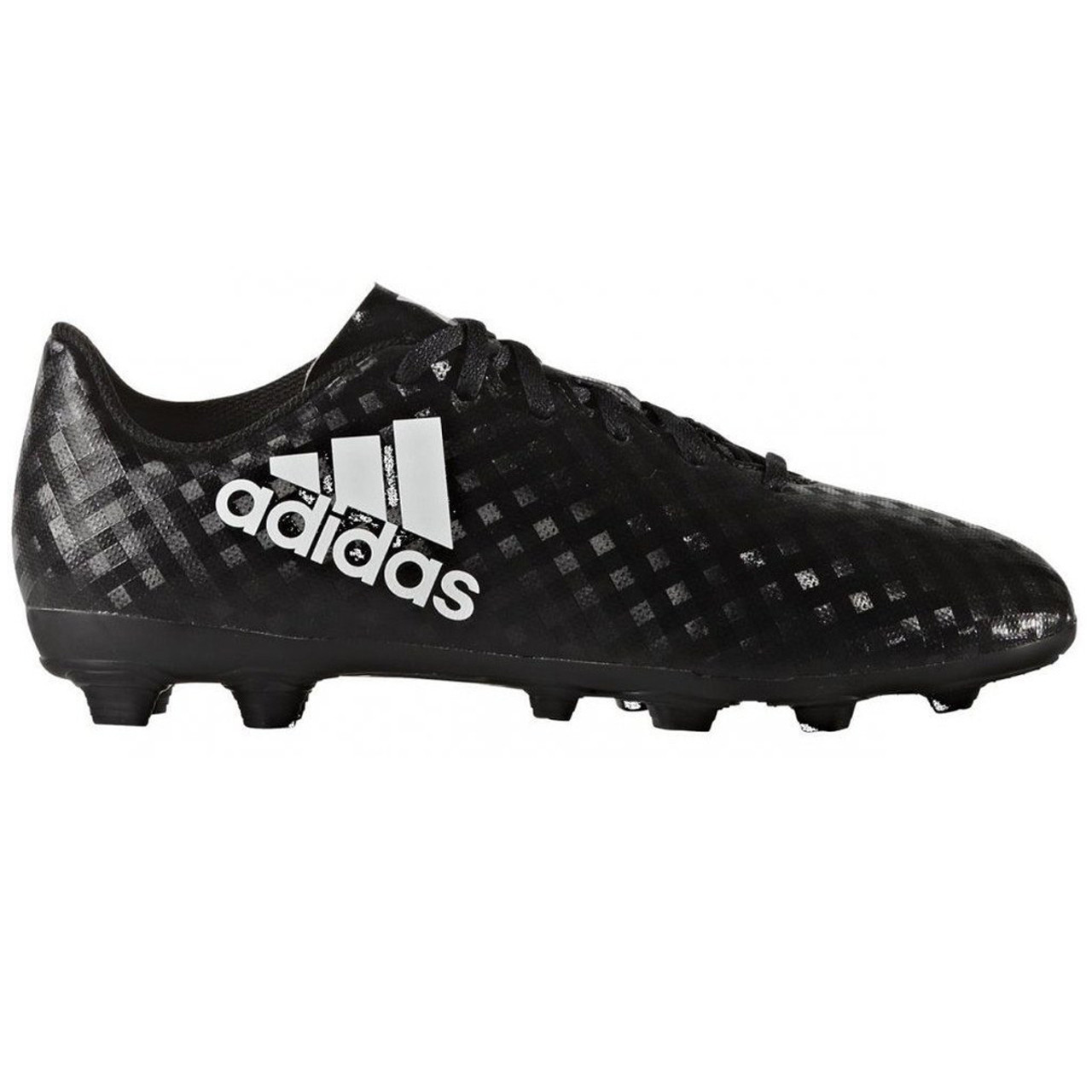 hot sale online 9bdee 9cd6a Adidas X 16.4 FxG Junior Soccer Cleats BB1045 - Black, White